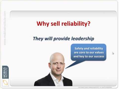 Reliability Leadership - Selling reliability to senior management