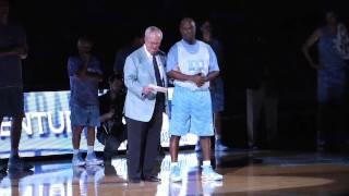 UNC celebrates 100 years of basketball