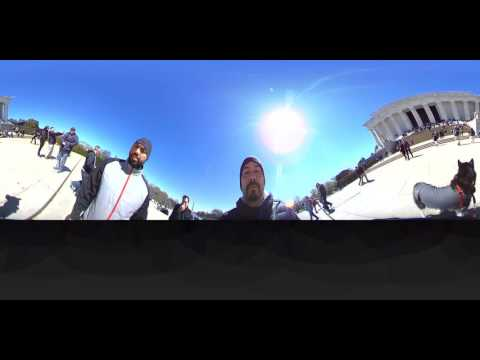 Lincoln Memorial, Washington D.C. (360 VR)