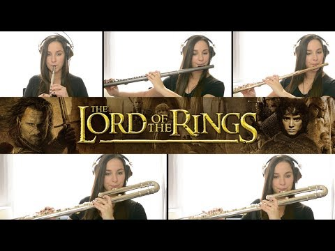 The Lord Of The Rings Theme - Flute Cover