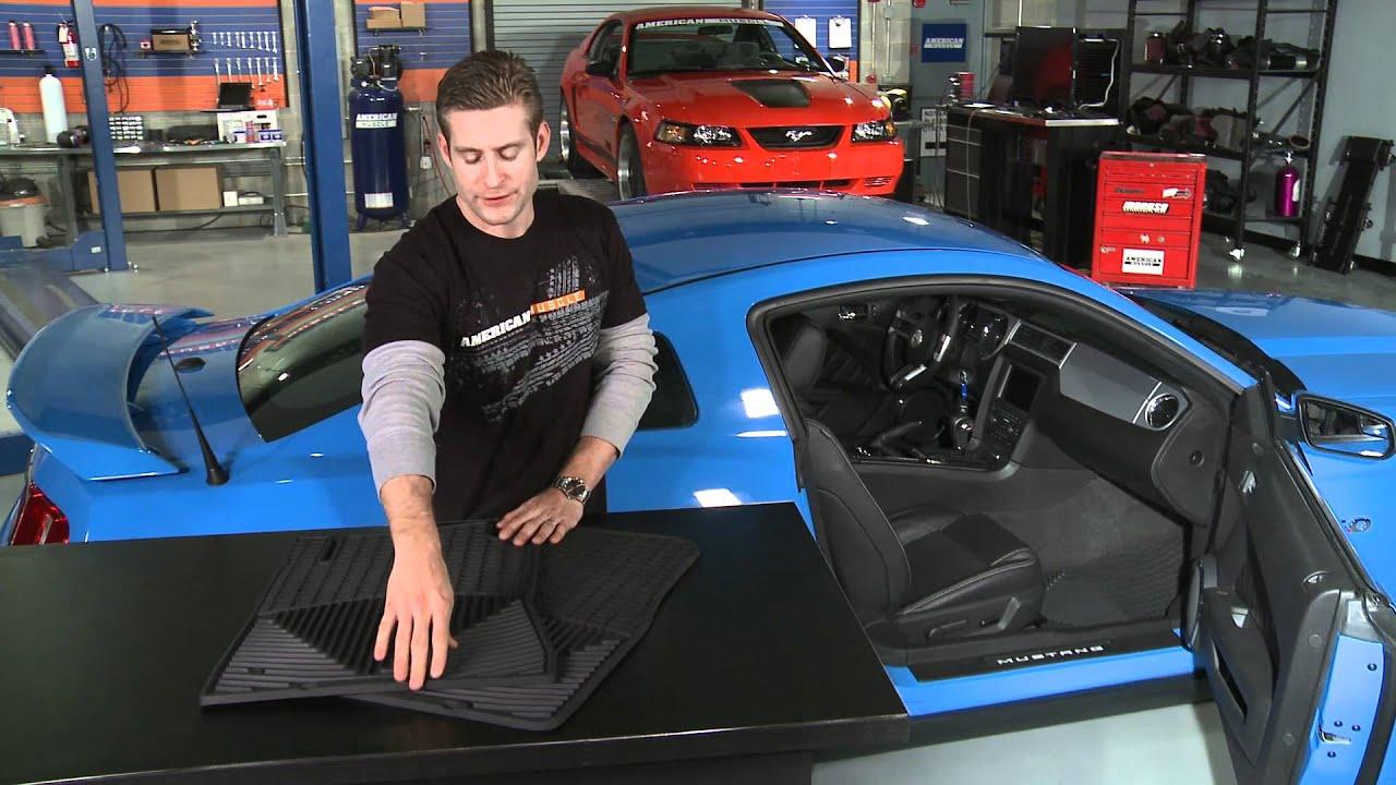 Mustang Weathertech Black Floor Mats (10 12 All) Review