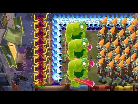 Plant vs Zombies Battlez - Witch Hazel, Zoybean Pod vs Shadow Peashooter