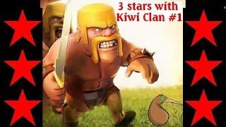 Clash of clans - TH9 vs TH9 GoHoWi (GoHog) 3 stars