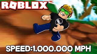 I AM SUPER FAST in ROBLOX PARKOUR SIMULATOR!!! / BLOX4FUN