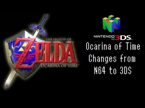 Ocarina of Time: Changes from N64 to 3DS (or the low budget