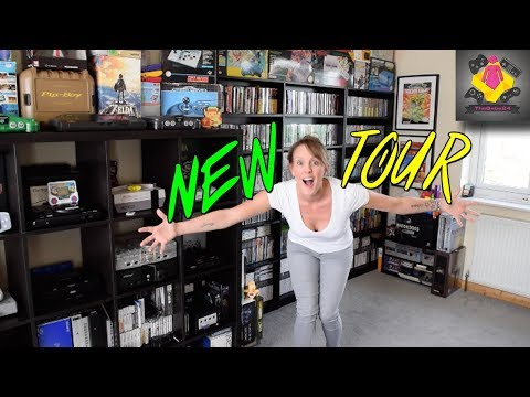 NEW RETRO GAMES ROOM TOUR | 2000+ Games | TheGebs24