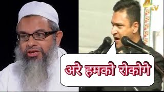 akbaruddin-owaisi-reply-to-mahmood-madni-and-all-congress-supporters