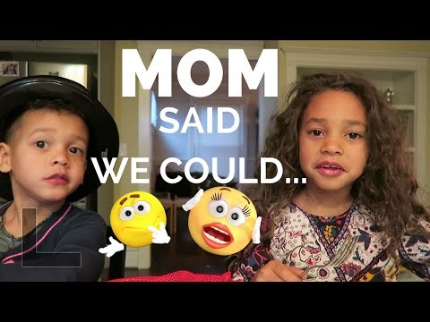 MOM SAID WE COULD?!? | Britt's Space | A Vlog