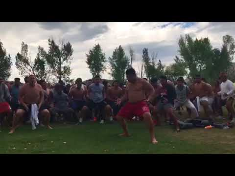 Snow College '18 Camp Haka