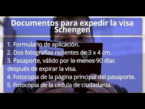 Tenga en cuenta estos documentos para solicitar la visa Schengen