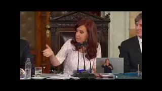 discurso de Cristina ante la Asamblea Legislativa 01032014 Macri