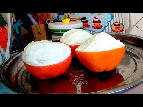 Фруктовый салат в апельсинах легко и просто
