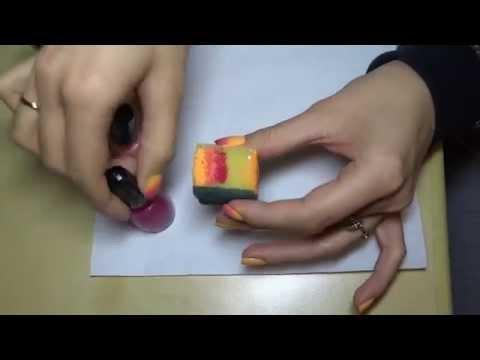 Jak zrobić ombre na paznokciach? Ombre nails sunshine
