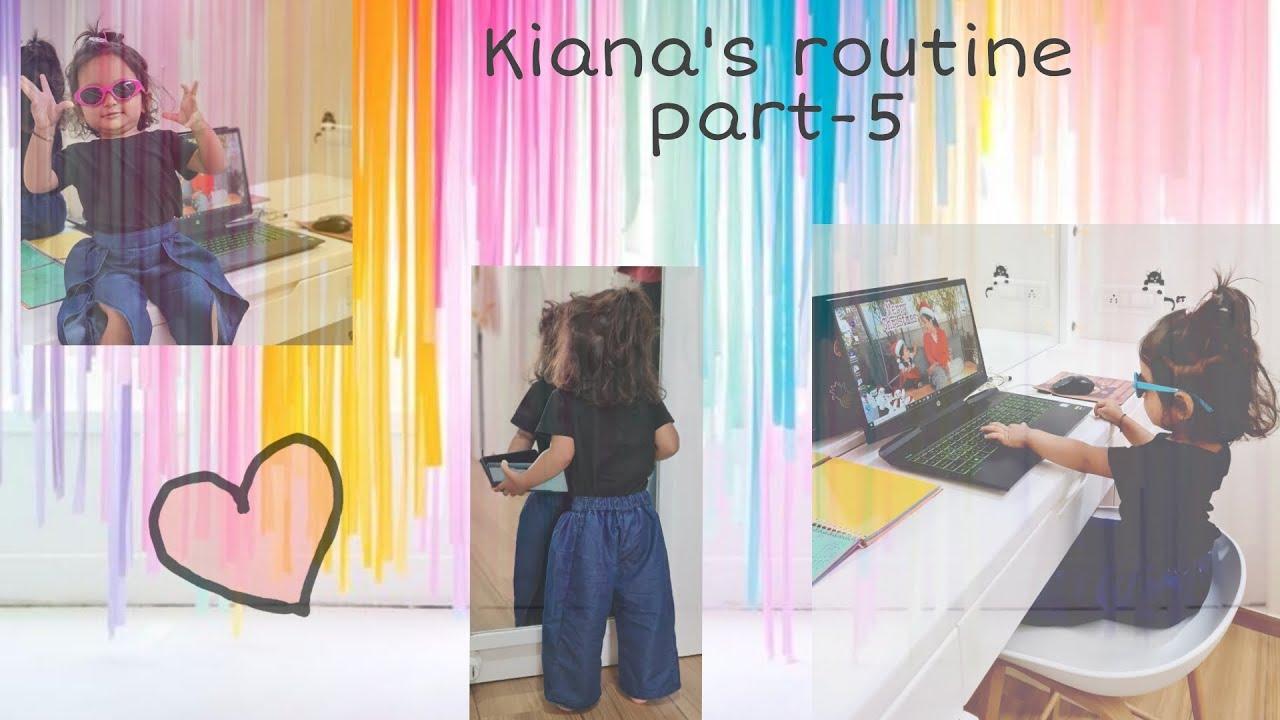 RAJKHUSH - Kiana's routine part-5