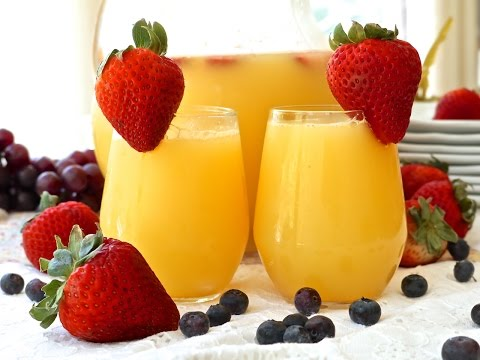 Brunch Mimosas By The Pitcher