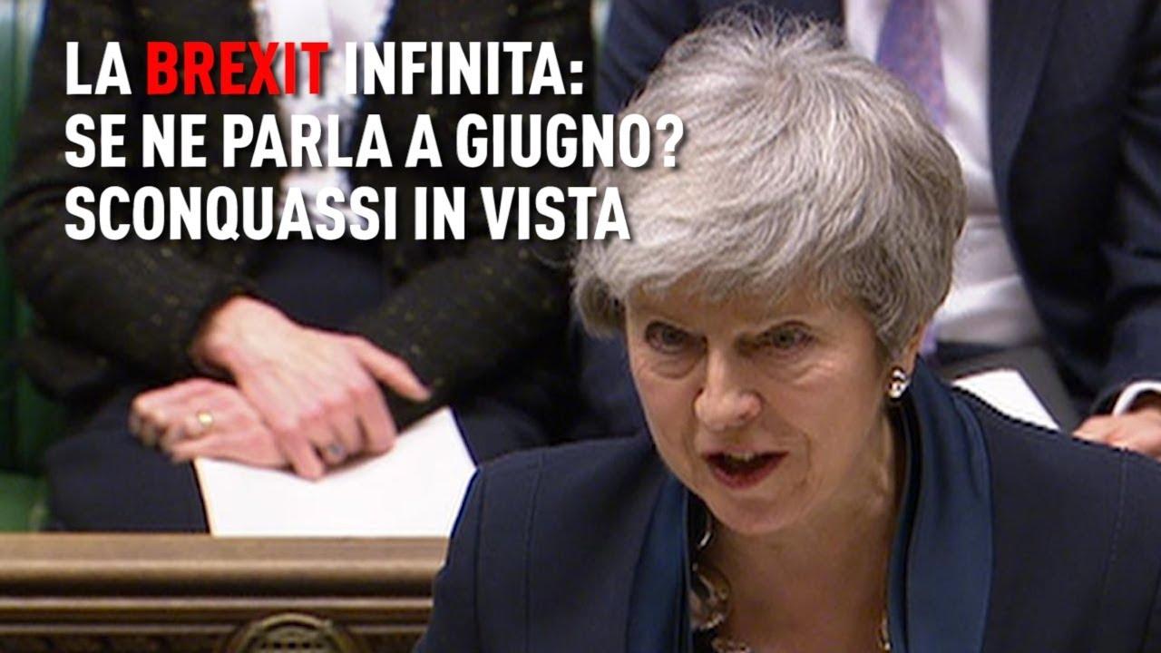 PTV News - 27.02.19 - La Brexit infinita: se ne parla a giugno? Sconquassi in vista