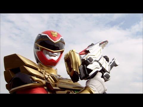 Power Rangers Megaforce - End Game - Power Rangers vs Messenger Round 1