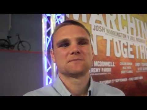 'THE KO KING' ANDY TOWNEND SET FOR ENGLISH TITLE DEFENCE ON SEPT 5th AGAINST LEE GLOVER - INTERVIEW