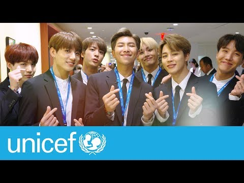 BTS at the United Nations | UNICEF