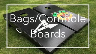 Make Bags/Cornhole Boards Using 2x4s and Plywood