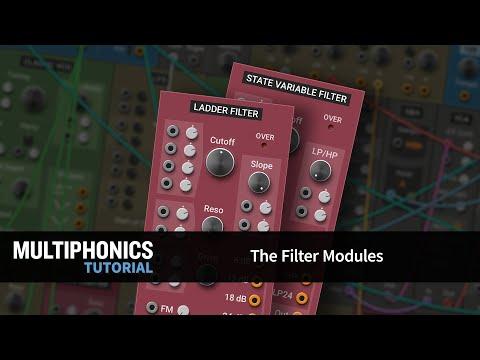 Multiphonics CV-1 Tutorial 7—The Filter Modules