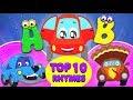 Top zehn Kinderreime    Top 10 Nursery Rhymes   Little Red Car Deutschland   Deutsch Kinderlieder
