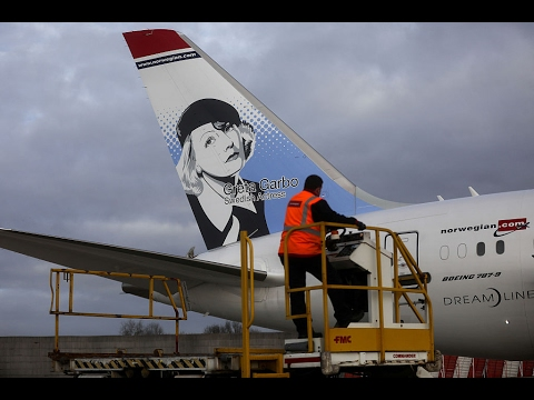 Nordic heroes take flight on the tail fins of Norwegian's planes | Marketing Media Money