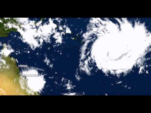 Tropical Cyclone Yasi  - 30th  JAN 2011