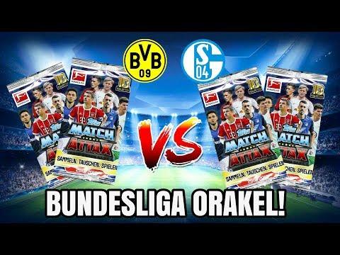 BORUSSIA DORTMUND VS. FC SCHALKE 04    Bundesliga Match attax ORAKEL!?
