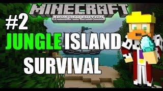 Minecraft (PS3 / XBOX360) Jungle Island Survival [2] DIAMONDS