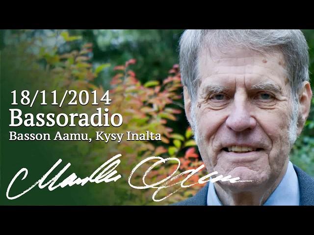 Markku Ojanen Bassoradio -kanavan Kysy Inalta -ohjelmassa 18.11.2014