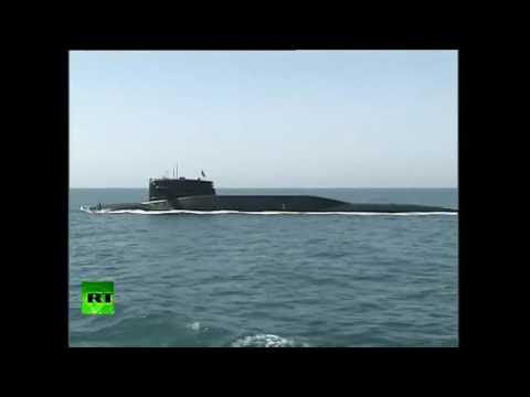 China Marine Übung und Abschuss Ballistischer Rakete