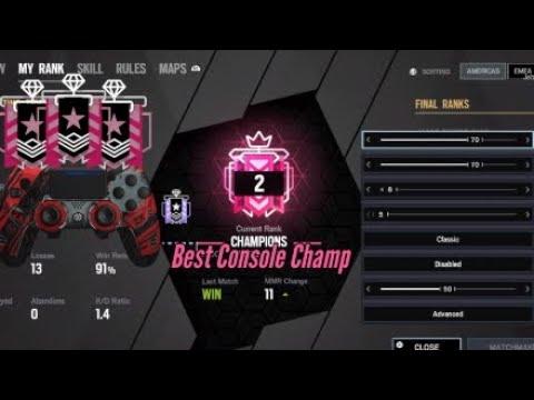 BEST CONSOLE CHAMPION ON THE STICKS - Rainbow Six Siege (Operation Void Edge)