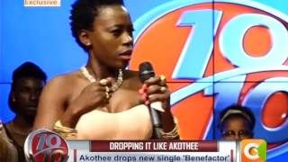 Akothee Talks about Sponsors on 10 over 10