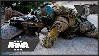 INCOMING, RUN, RUUUUN! - ArmA 3 3rd Ranger Battalion Main Op 1st Person Gameplay