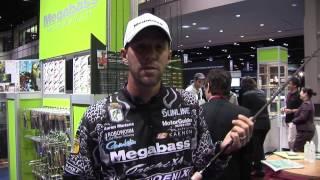 Aaron Martens - Megabass Rods - ICAST 2012
