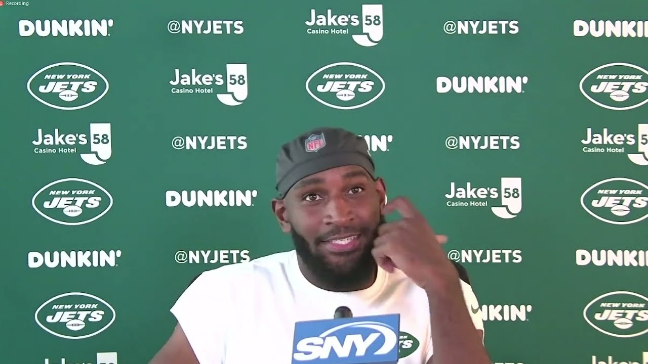 """I'm Here Now So I'm Ready To Rock-N-Roll"" | WR Jamison Crowder Speaks To Media | New York Jets"