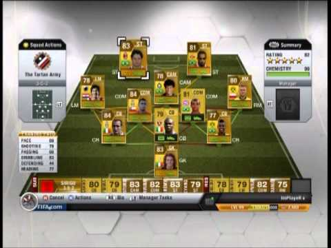 Fifa 13 ultimate team web app now live just push start.