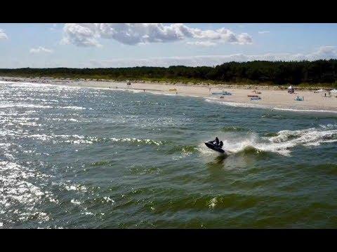 JET SKI RESCUE / WOPR / POLISH LIFEGUARDS / JURATA BEACH / BALTIC SEA