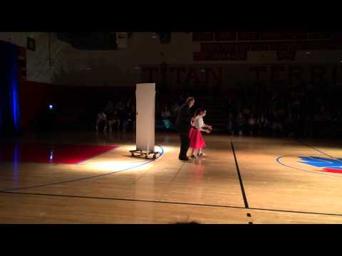 Toll Gate High School 2015 Dancing With The Senior Stars 10th Anniversary Dance 1