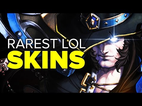 Top 16 Rarest LoL Skins (2017)