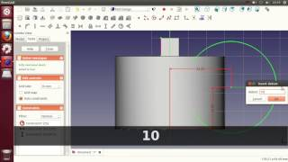 Freecad Tutorial - Part Design Tool