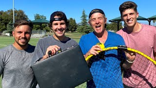 CHALLENGING BEST FRIEND TO SPIKEBALL GAME FOR $10,000!!