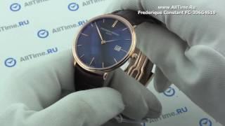 Обзор. Мужские золотые наручные часы Frederique Constant FC-306G4S19