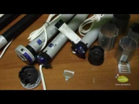 Istruzioni Montaggio Motore Tenda Da Sole.Motori Per Tapparelle E Tende Da Sole Nice E Black Youtube