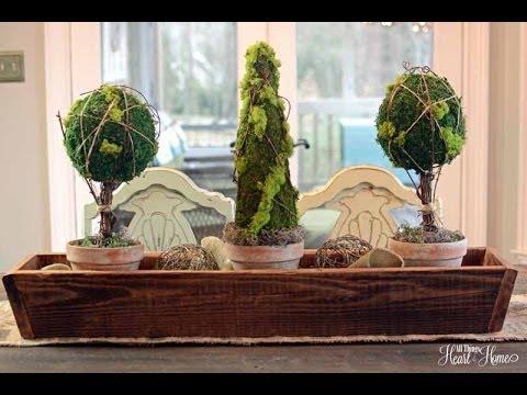 Easy Moss Topiary