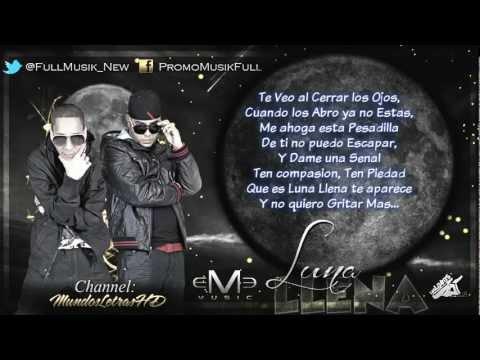 Luna Llena [Con Letra]   Baby Rasta Y Gringo (Original) 2012 Letra  Lyrics        YouTube.wmv