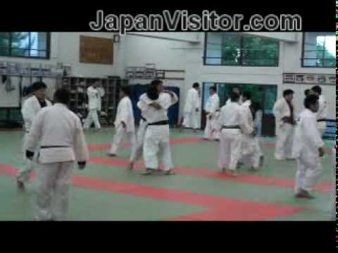 Judo Practice 柔道