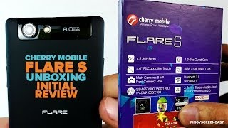 Cherry Mobile Flare S Unboxing and Initial Review 1.3GHz MT6582 Quad Core, PHP 4,499