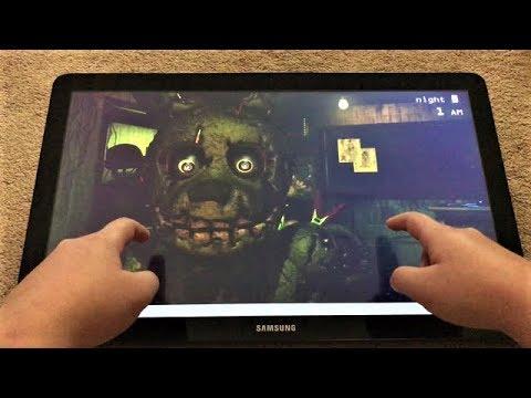 CAN PHANTOM FREDDY GO THROUGH WALLS?!? | Five Nights at Freddy's 3 [GARGANTUAN TABLET]